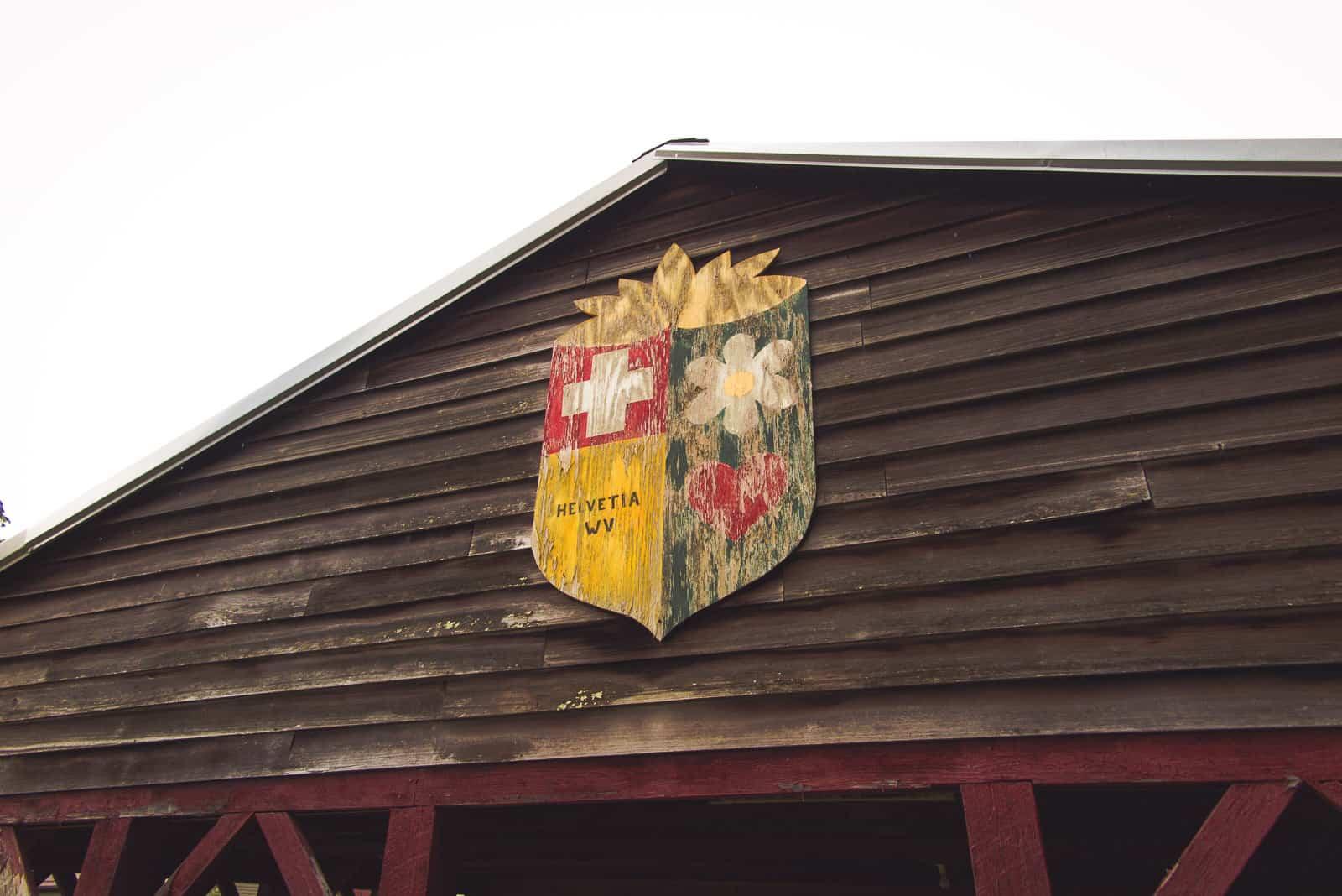 Das Wappen von Helvetia, WV