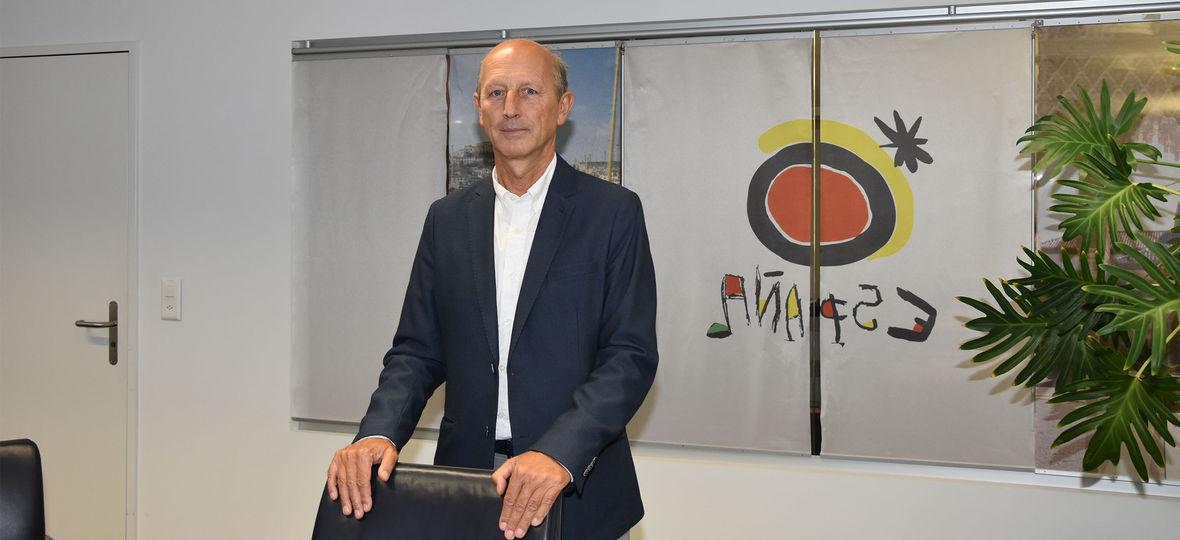 Faustino Diaz Fortuny, Direktor des Spanischen Fremdenverkehrsbüros in der Schweiz.
