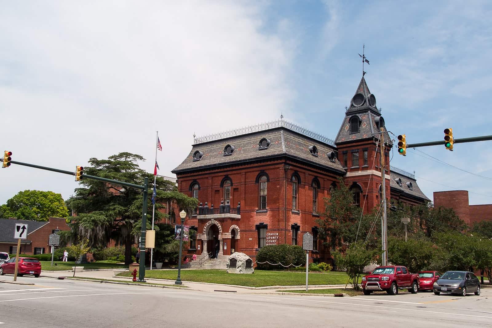 Das Gerichtsgebäude von Craven County in New Bern