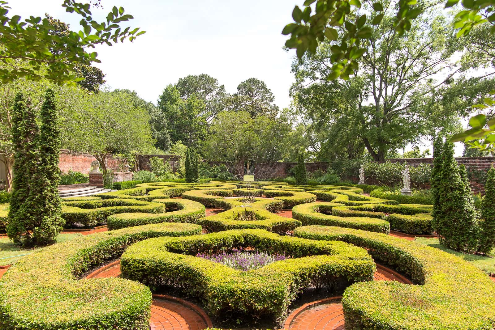 Latham Garden in Tryon Palace