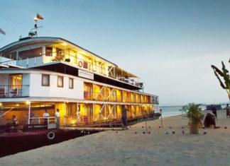 Die einzigartige Flusslandschaft entlang dem Irrawaddy bietet faszinierende Stoppmöglichkeiten und Landausflüge