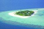 Luftansicht Dhoni Mighili Island