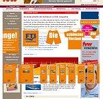 Screenshot FTI Layer-Werbung
