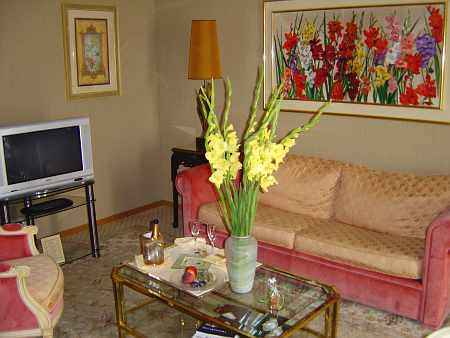 Beau Rivage Palace: Junior Suite Wohnzimmer