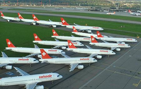 Grounding der Swissair am 2. Oktober 2001