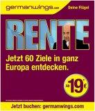Germanwings-Kampagne mit Edmund Stoiber