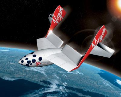 Virgin Galactic - SpaceShipTwo (SS2)
